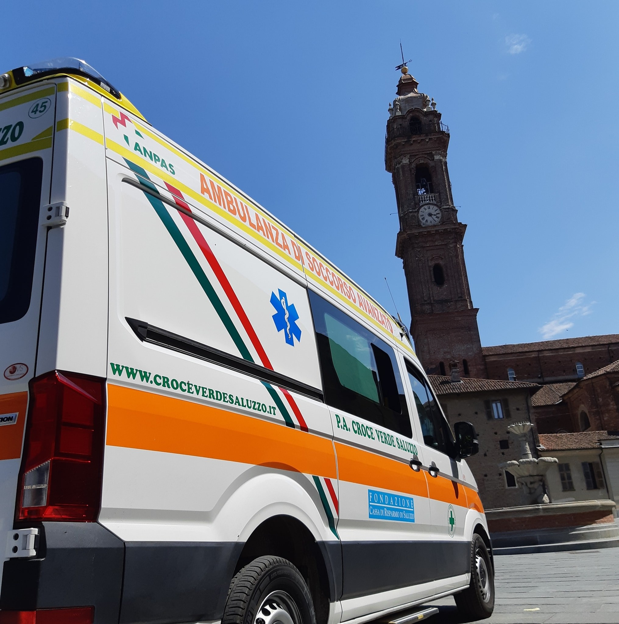 La Croce Verde riceve la cittadinanza onoraria di Saluzzo. Domenica 26 settembre la cerimonia